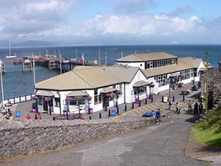 The Pier Cafe, Mumbles.